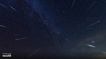 The weekend of Nov. 16-17 will feature the Leonid meteor shower