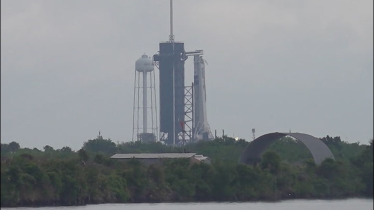 SpaceX Crew-2 launch delayed due to weather