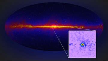 Dark Matter in Our Galaxy's Core May Be Firing Out Gamma Rays
