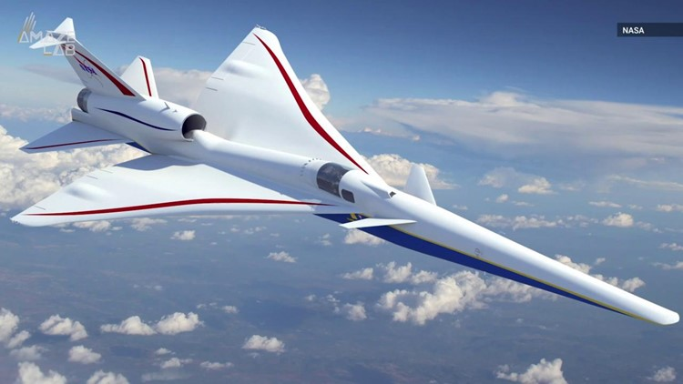 NASA Scraps Supersonic Jet's Front Window To Reduce Sonic Boom