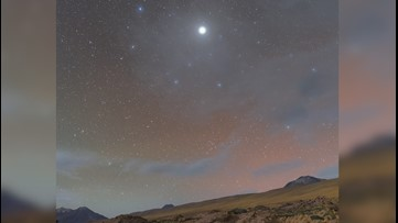 Rare Look at Jupiter's Halo Captured in Chilean Desert Sky