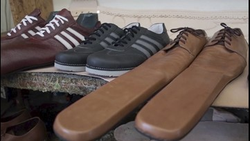 Big Shoes to Fill! Romania Shoemaker Invents Size 75 Shoes to Make Enforce Social Distancing!
