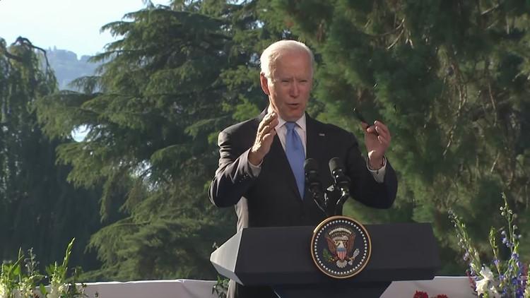 Biden calls foreign policy