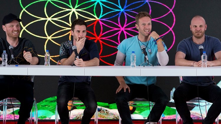 Coldplay Not Touring AP