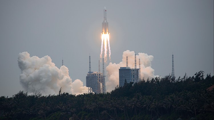 Can US shoot down 'out of control' Chinese rocket?