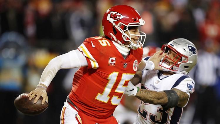 APTOPIX Patriots Chiefs Football