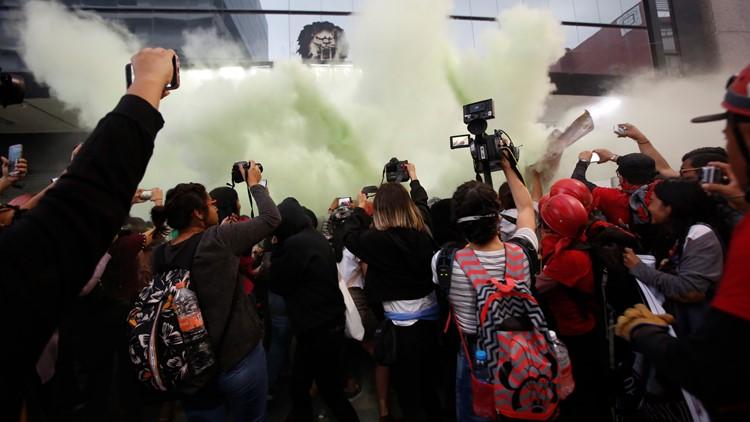 Mexico Femicide Protest