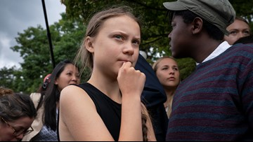 Teen activist to lawmakers: Try harder on climate change