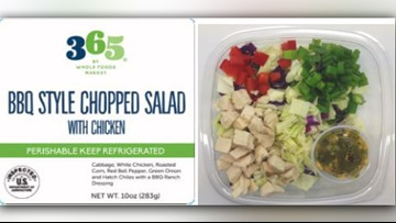Salads shipped to California stores recalled for possible salmonella contamination
