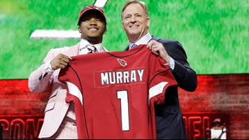 NFL Draft: Kyler Murray  drafted No. 1, followed by Bosa and Williams