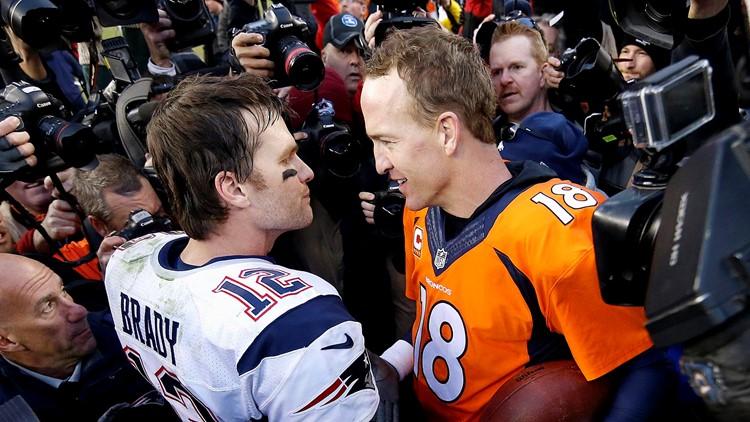 Tom Brady Peyton Manning