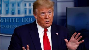President Trump responds to Bernie Sanders ending his White House bid