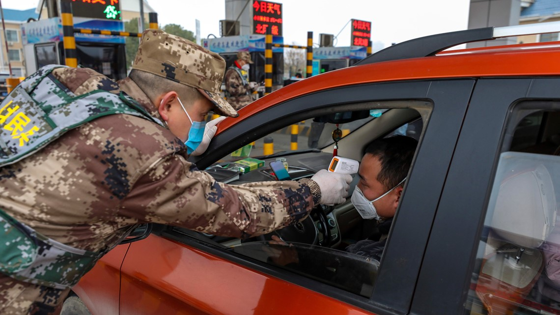 China confirms 1st death outside epicenter of coronavirus outbreak; expands lockdowns to 25 million