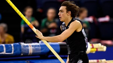 20-year-old Armand 'Mondo' Duplantis breaks world pole vault record again