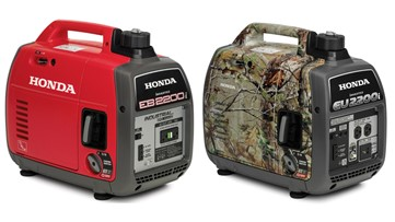340,000 Honda portable generators recalled for fire hazard