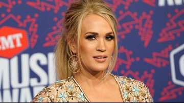 Carrie Underwood 'speechless' after seeing cheese sculpture of herself