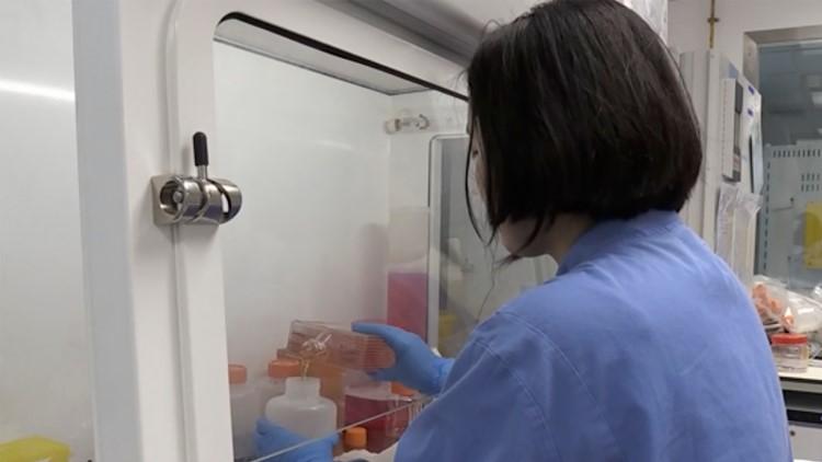 Virus Outbreak Britain Vaccine Test