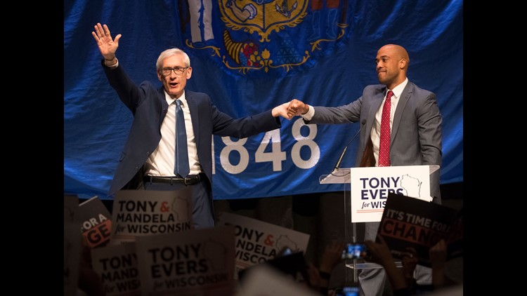 Ap Aptopix Election 2018 Governor Evers Wisconsin A Eln Usa Wi