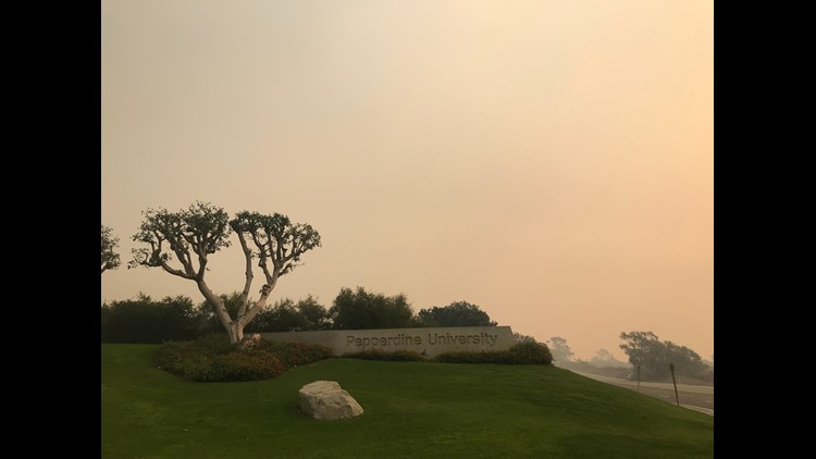 Pepperdine University responds to criticism regarding 'shelter in-place' Woosley Fire policy