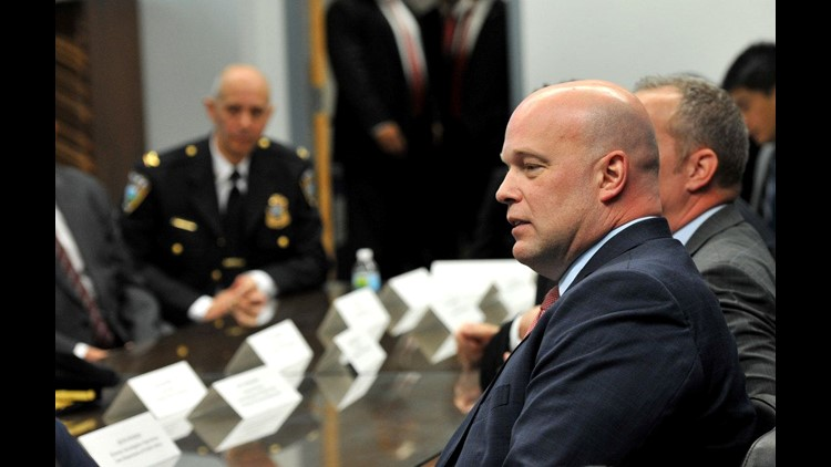 Acting AG Matthew Whitaker released details of past income that shows $900K from nonprofit