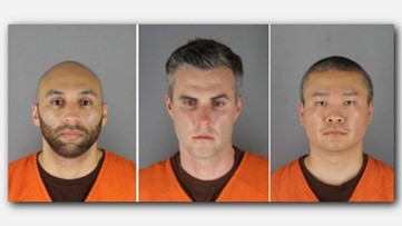 Former officers charged in George Floyd's death appear in court