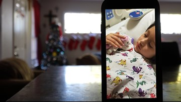 It could be the last Christmas for a 6-year-old with an inoperable brain tumor. Her family wants to make it special.