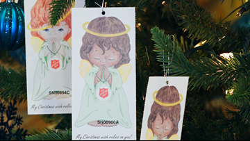 Salvation Army says 200 angels haven't been adopted, 541 have not been returned