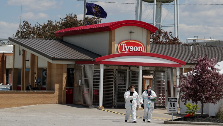 Meatpacker Tyson: Mandate led 96% of workers to get vaccine
