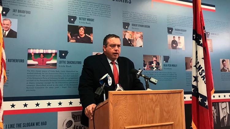 Arkansas Democrats' chairman stepping down to head super PAC