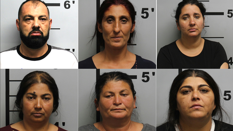 Police: Six arrests made for burglary at Rogers Buddhist temple