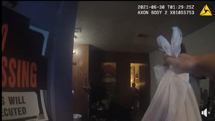 DoorDash driver arrested, Arkansas officer still delivers food