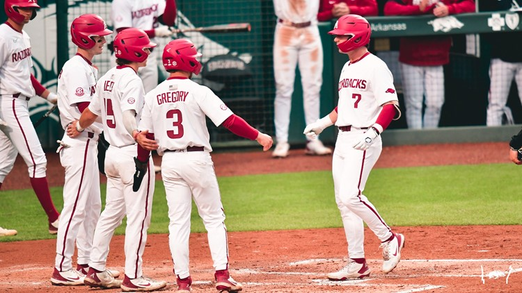 Diamond Hogs win first ever game with Arkansas State
