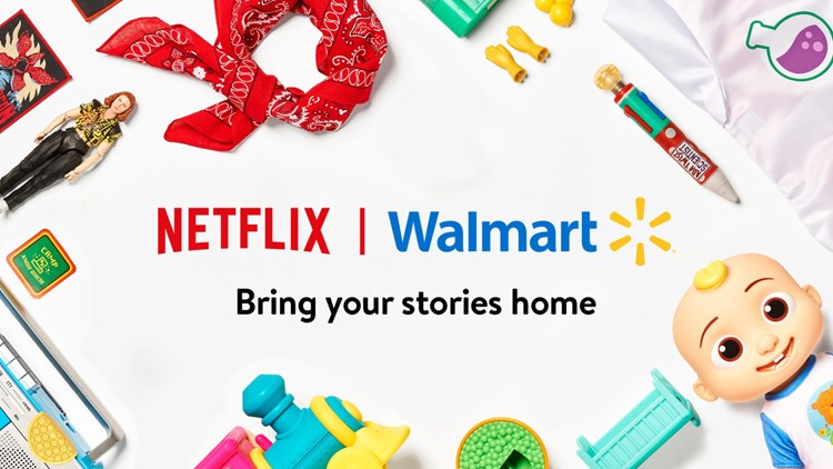 Walmart partners with Netflix to launch exclusive retail hub