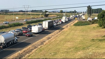 Anticipated traffic nightmare hits Oregon following eclipse