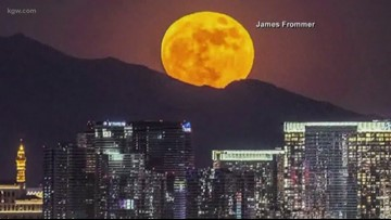 Super worm moon and vernal equinox fall on same day for first time since '81