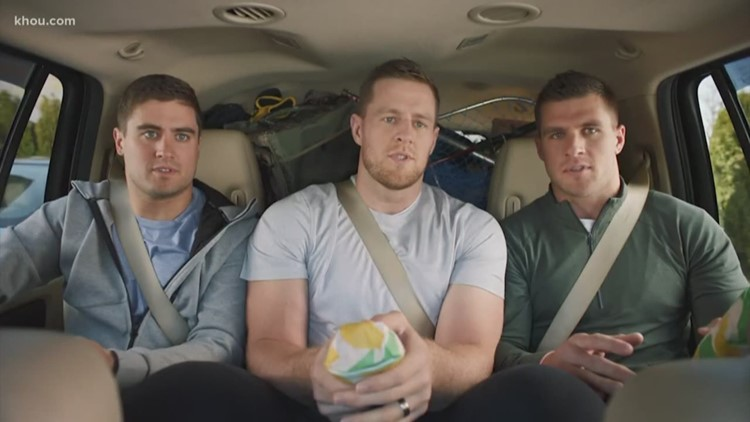 Watch: J.J. Watt, his brothers and parents star in funny Subway commercial