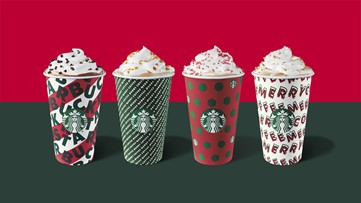 Starbucks holiday cups will be back this week