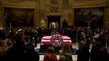 What to expect in Washington, Houston as we remember President Bush