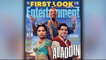 First photos show Will Smith as the Genie in 'Aladdin' and not everyone is cool with it
