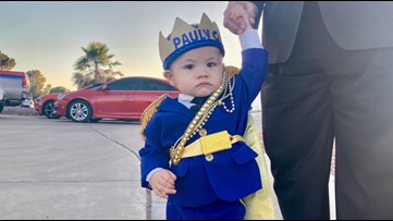 Baby who survived El Paso mass shooting at Walmart celebrates first birthday without his parents