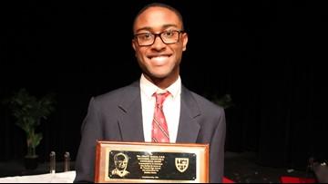 Kellin McGowan is the first black valedictorian in Texas school's 119-year history