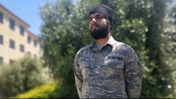 Sikh airman becomes first allowed to wear beard and turban in Air Force