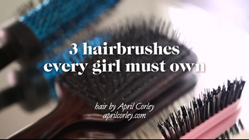 3 Must Have Hair Brushes