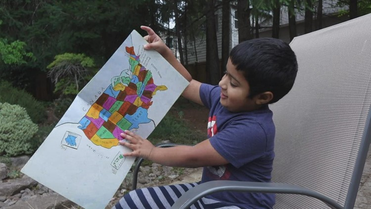 'Highly gifted': Washington 5-year-old accepted into Mensa