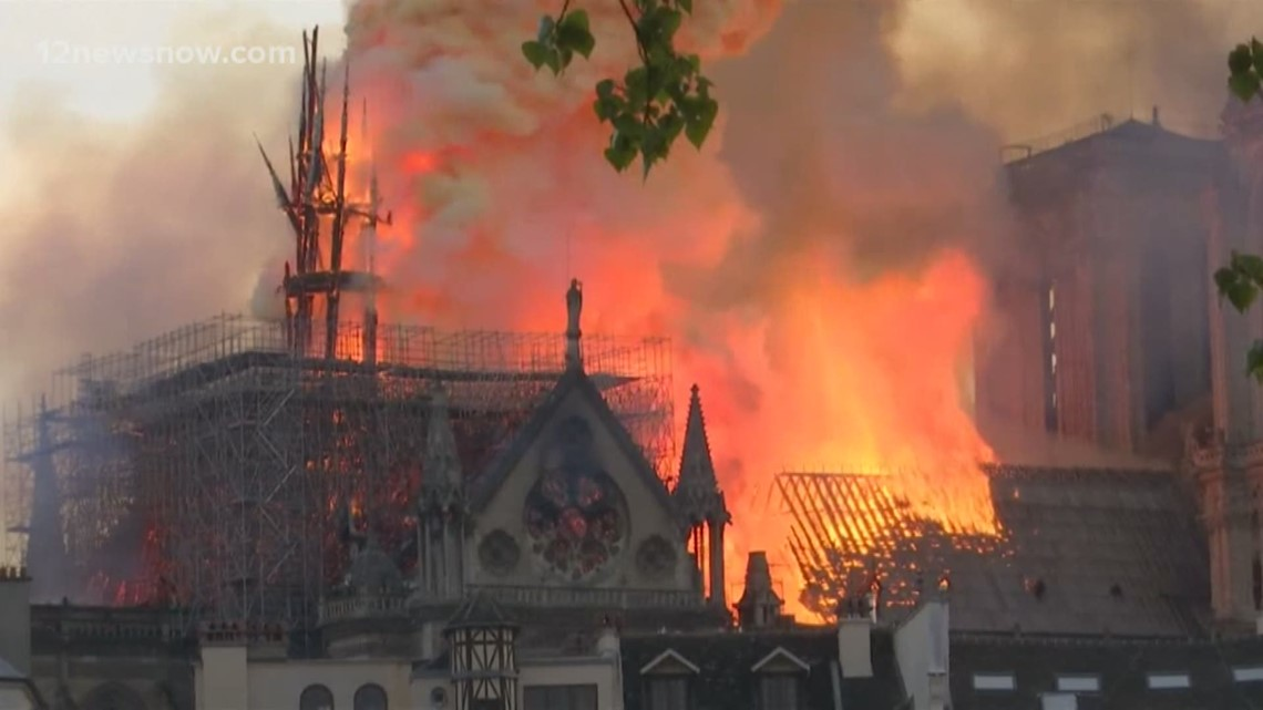 Devastating Notre Dame fire affects art and religious community in Arkansas