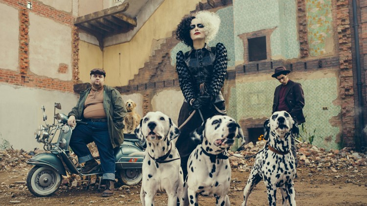 First Look: Emma Stone to play Cruella de Vil in Disney's 'Cruella'