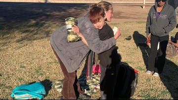 Phoenix 10-year-old delivers care packages to homeless for his birthday party