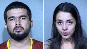Court docs: Fentanyl found in 1-year-old's system after parents smoked while she was in the car