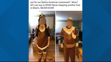 Couple kicked out of restaurant for insulting Native Americans