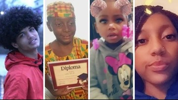 These are the 10 children fatally shot in the St. Louis area this summer